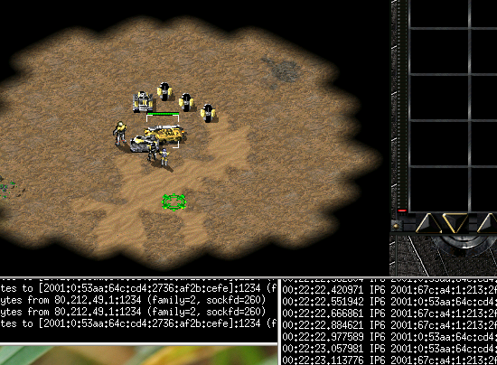 Tiberian Sun played over IPv6